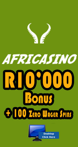 R6'000 Welcome Bonus At Afri Casino