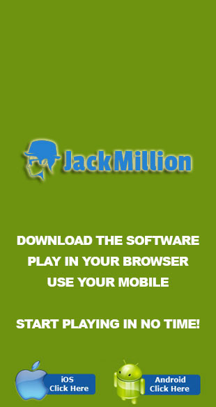 Play in no time at Jack Million