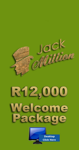 R12,000 Welcome Bonus At Jack Million Casino