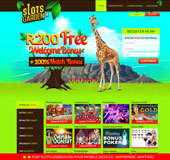 Slots Garden Online Casino Screenshot