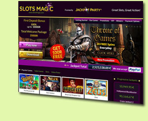 Slots Magic Online Casino Review