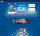 Sloty Online Casino Screenshot