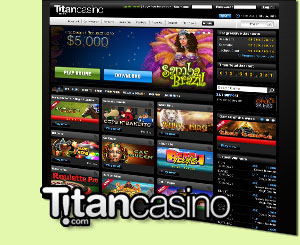 titan casino mobile