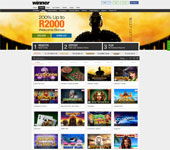 Winner Online Casino Screenshot
