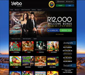 Yebo Online Casino Screenshot