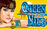 Queen of the Nile II Aristocrat Casino Game Logo