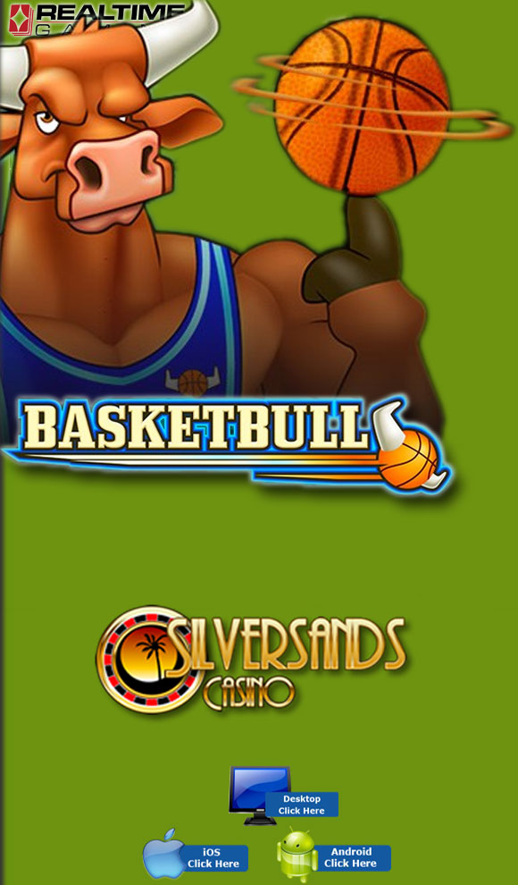 RTG Casino Games - Play BasketBull For Real Money At SilverSands Casino
