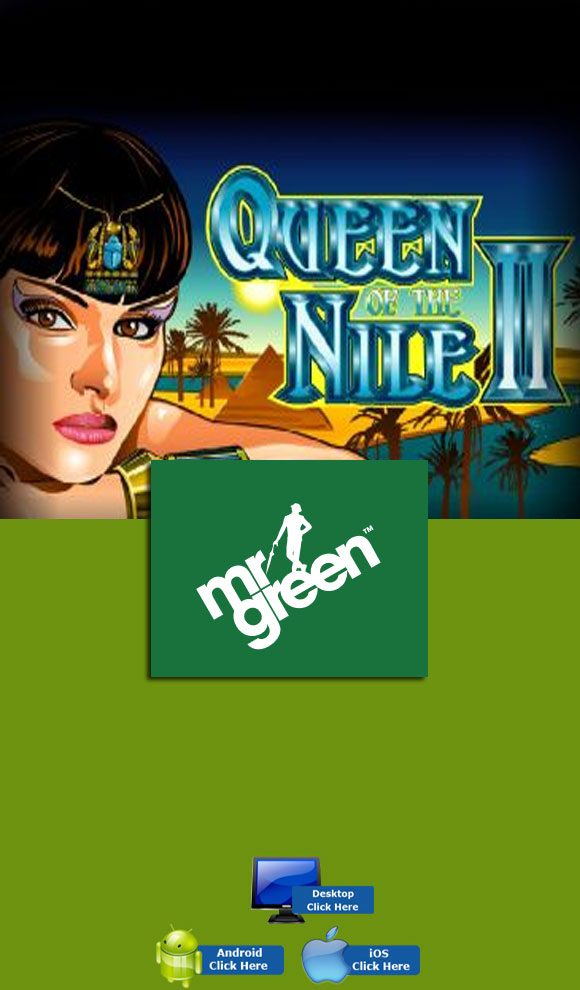 Aristocrat Casino Games - Play Queen Of The Nile 2 At MR Green
