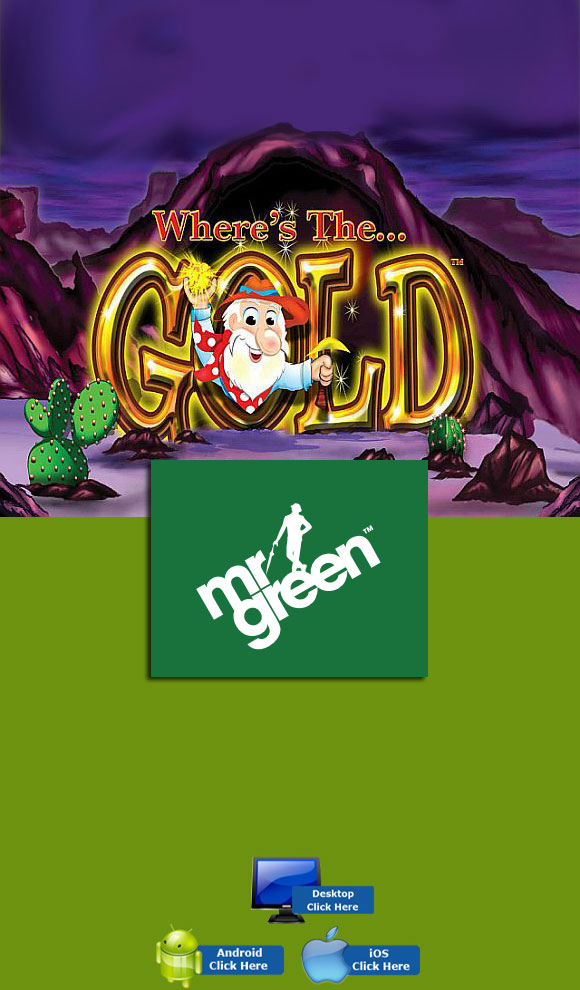 Aristocrat Casino Games - Play Where's The Gold At MR Green