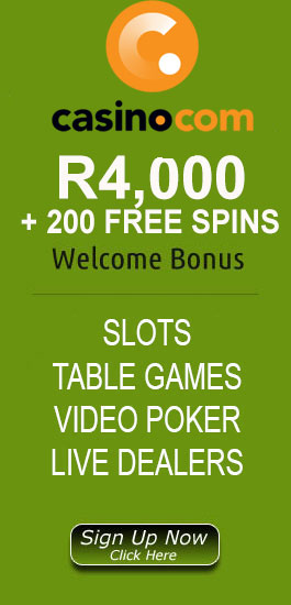 R32,000 Welcome Bonus At Casino.com