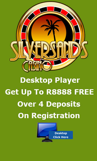 R8,888 Welcome Bonus As A Desktop Player At Silversands Casino