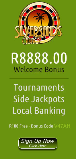 R8,888 Welcome Bonus At SilverSands