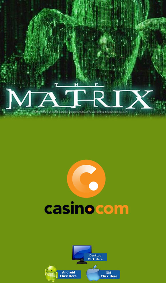 Playtech Casino Games - Play The Matrix At Casino.com