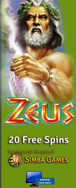Play Zeus At Simba Games