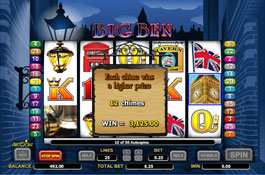 Big Ben Aristocrat Casino Game Screenshot