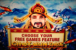 Choy Sun Doa Aristocrat Casino Game Screenshot