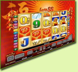 Aristocrat Lucky 88 Slot Game Screenshot