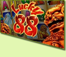 Aristocrat Lucky 88 Slot Game Logo