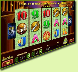 Aristocrat Pompeii Slot Game Screenshot
