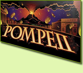 Aristocrat Pompeii Slot Game Logo