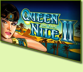 Aristocrat Queen Of The Nile 2 Slot Game Logo