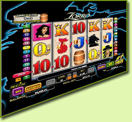 Aristocrat Zorro Slot Game Screenshot