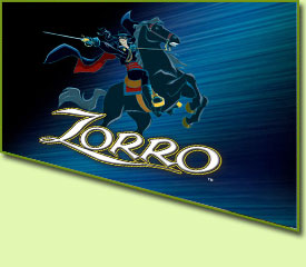 Aristocrat Zorro Slot Game Logo