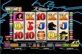 free casino slots zorro