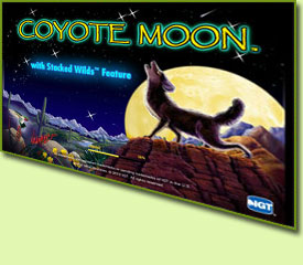 IGT Coyote Moon Slot Game Logo