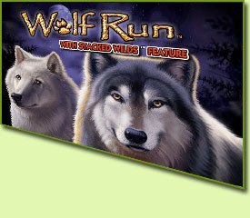 IGT Wolf Run Slot Game Logo