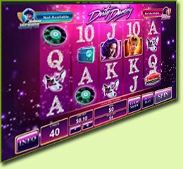 Playtech Dirty Dancing Slot Game Screenshot