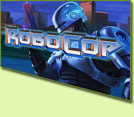 Playtech Robocop Slot Game Logo