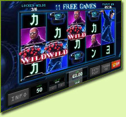 Playtech The Matrix Slot Game Screenshot