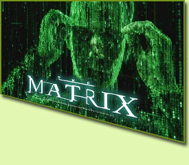 Playtech The Matrix Slot Game Logo