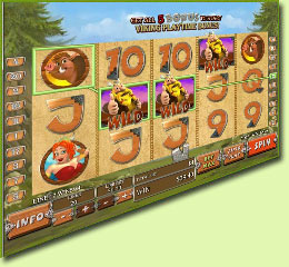 Playtech Viking Mania Slot Game Screenshot