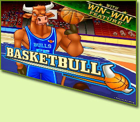 RTG BasketBull Slot Game Logo
