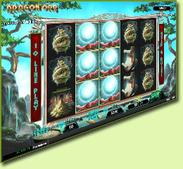 RTG Dragon Orb Slot Game Screenshot