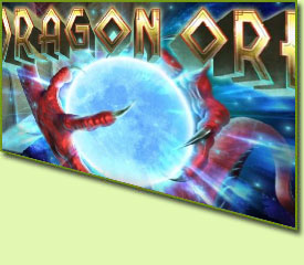 RTG Dragon Orb Slot Game Logo