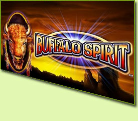 WMS Gaming Buffalo Spirit Slot Game Logo