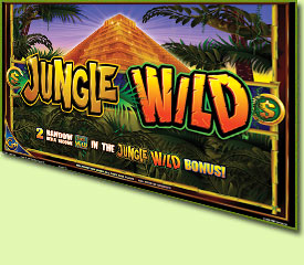 WMS Gaming Jungle Wild Slot Game Logo