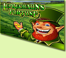 WMS Gaming Leprechauns Fortune Slot Game Logo