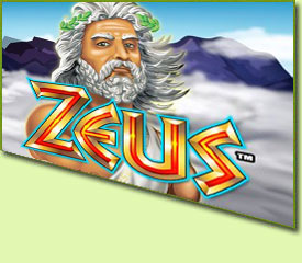 WMS Gaming Zeus Slot Game Logo